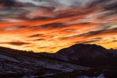 Independence Pass Sunset
